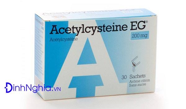 acetylcystein la thuoc gi acetylcystein 200mg la thuoc gi - Acetylcystein là thuốc gì? Acetylcystein 200mg là thuốc gì?