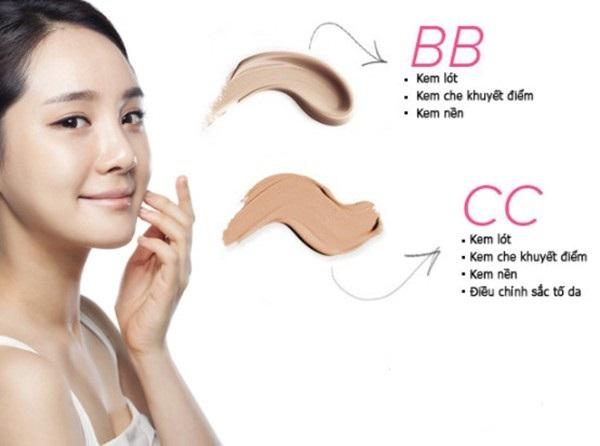 bb cc cream la gi cong dung va cach phan biet bb cc cream 1 - BB CC Cream là gì? Công dụng và Cách phân biệt BB CC Cream
