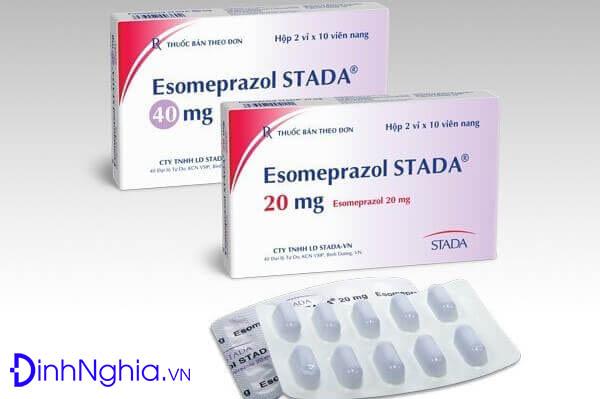 esomeprazole la thuoc gi lieu dung cong dung va gia ban - Esomeprazole là thuốc gì? Liều dùng, Công dụng và Giá bán