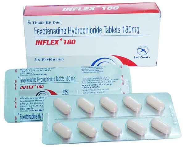 fexofenadine la thuoc gi tac dung va lieu dung cua fexofenadine 2 - Fexofenadine là thuốc gì? Tác dụng và Liều dùng của Fexofenadine
