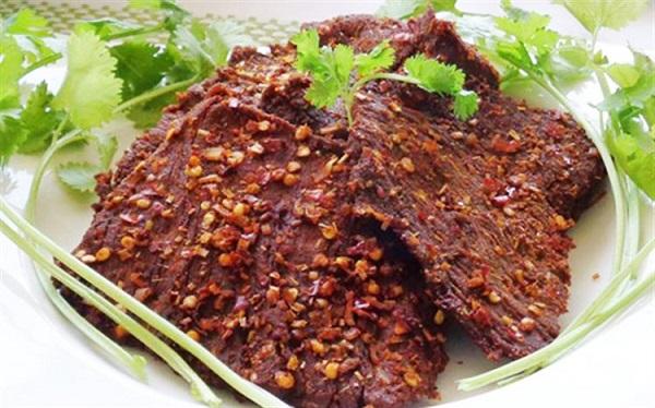 """hoc cach lam bo kho """"vi chuan khong can chinh"""" ngay tai nha 5 - Học cách làm bò khô """"vị chuẩn không cần chỉnh"""" ngay tại nhà"""