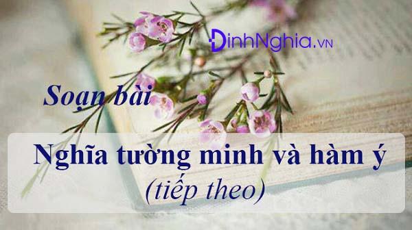 nghia tuong minh va ham y la gi ngu van 9 bai 24 1 - Nghĩa tường minh và hàm ý là gì? Ngữ Văn 9 Bài 24