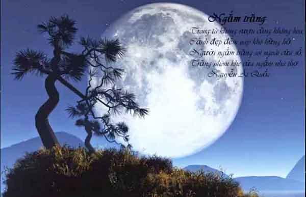 phan tich bai tho ngam trang cua ho chi minh – ngu van lop 8 1 - Phân tích bài thơ Ngắm trăng của Hồ Chí Minh – Ngữ Văn lớp 8