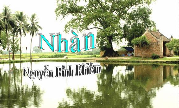 phan tich bai tho nhan cua nguyen binh khiem – ngu van 10 - Phân tích bài thơ Nhàn của Nguyễn Bỉnh Khiêm – Ngữ Văn 10
