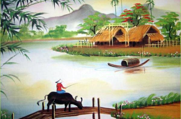 phan tich bai tho que huong cua do trung quan – van hoc lop 6 1 - Phân tích bài thơ Quê hương của Đỗ Trung Quân – Văn học Lớp 6