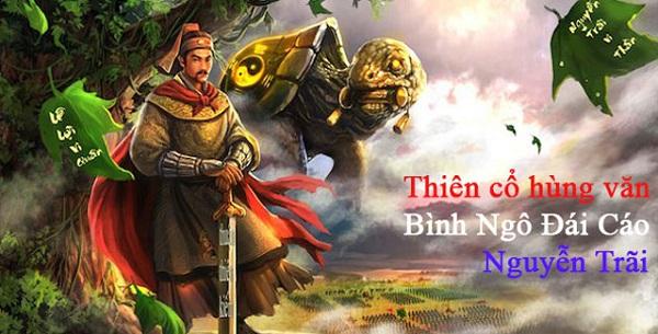 phan tich binh ngo dai cao cua nguyen trai – ngu van lop 10 - Phân tích Bình ngô đại cáo của Nguyễn Trãi – Ngữ Văn lớp 10