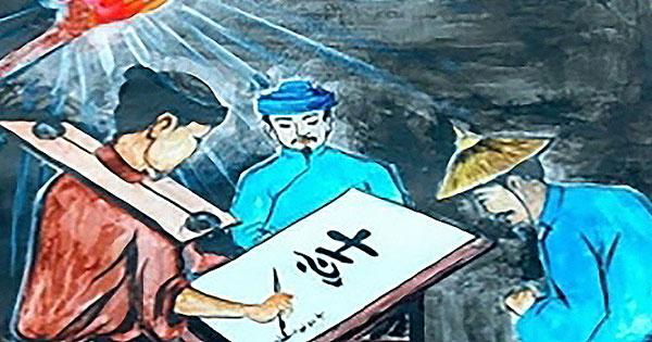 phan tich canh cho chu cua huan cao trong tac pham chu nguoi tu tu - Phân tích cảnh cho chữ của Huấn Cao trong tác phẩm Chữ người tử tử