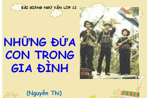 phan tich nhan vat viet trong tac pham nhung dua con trong gia dinh 1 - Phân tích nhân vật Việt trong tác phẩm Những đứa con trong gia đình
