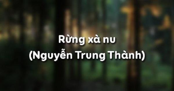 phan tich ve dep su thi cua nhan vat tnu trong rung xa nu - Phân tích vẻ đẹp sử thi của nhân vật Tnú trong Rừng Xà Nu