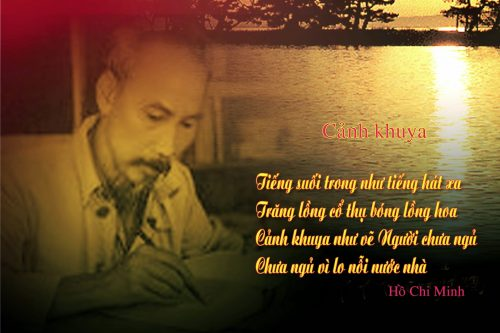 phat bieu cam nghi ve bai tho canh khuya cua ho chi minh – ngu van 7 - Phát biểu cảm nghĩ về bài thơ Cảnh khuya của Hồ Chí Minh – Ngữ Văn 7