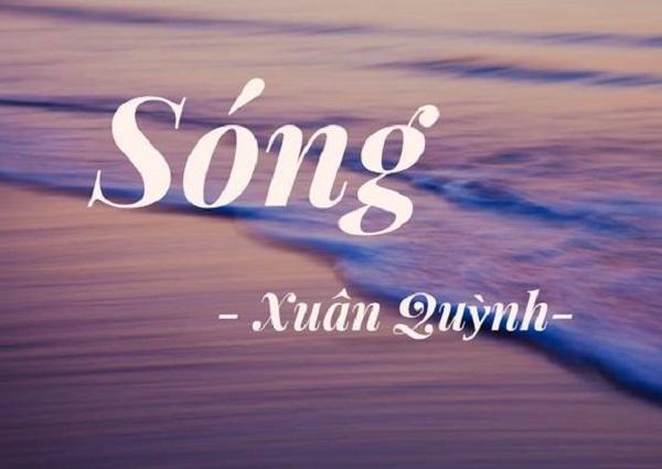 soan bai song xuan quynh va phan tich hinh tuong song va em - Soạn bài Sóng Xuân Quỳnh và Phân tích hình tượng sóng và em