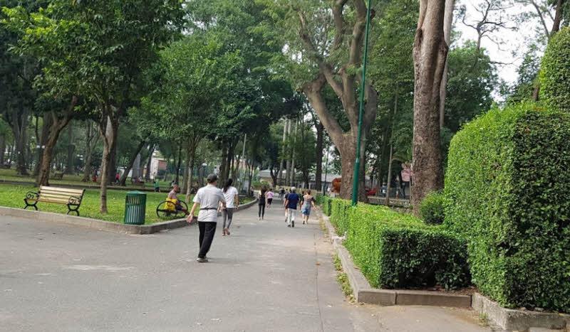ta canh mot buoi sang trong cong vien - Tả cảnh một buổi sáng trong công viên