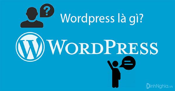 wordpress la gi cach su dung va cai dat wordpress - WordPress là gì? Cách sử dụng và cài đặt WordPress