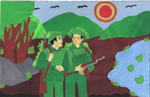 y nghia nhan de dong chi cua chinh huu – ngu van lop 9 - Ý nghĩa nhan đề Đồng chí của Chính Hữu – Ngữ Văn lớp 9