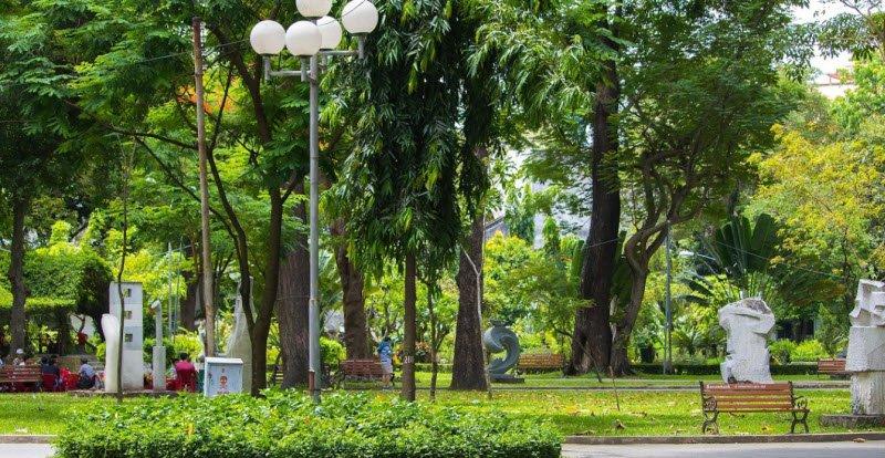 canh cong vien buoi sang - Tả cảnh một buổi sáng trong công viên lớp 5 hay nhất - 3 bài văn miêu tả buổi sáng đẹp ngắn gọn