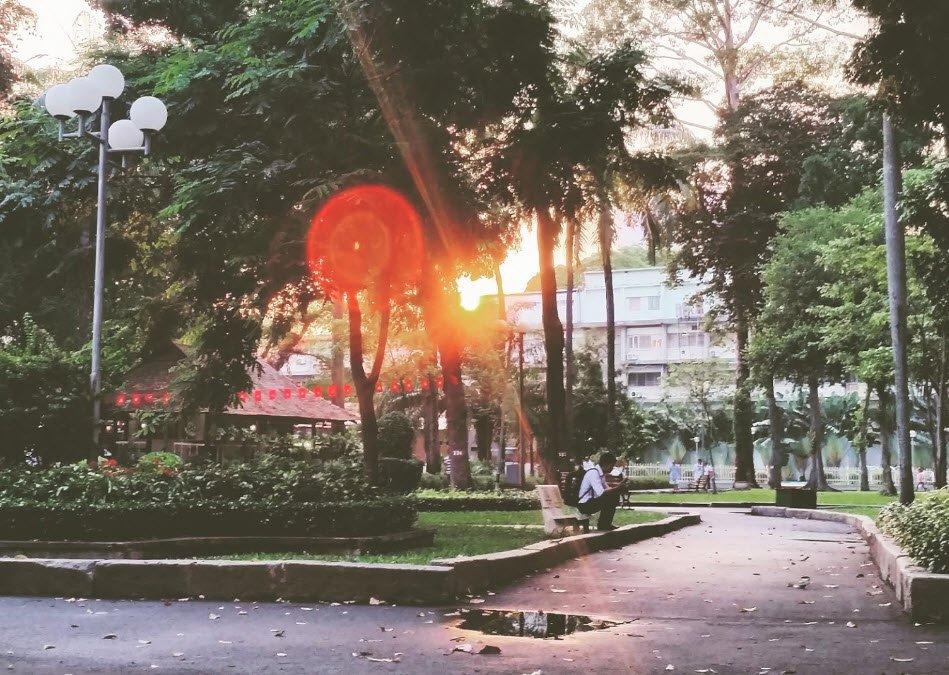 cong vien buoi sang - Tả cảnh một buổi sáng trong công viên lớp 5 hay nhất - 3 bài văn miêu tả buổi sáng đẹp ngắn gọn