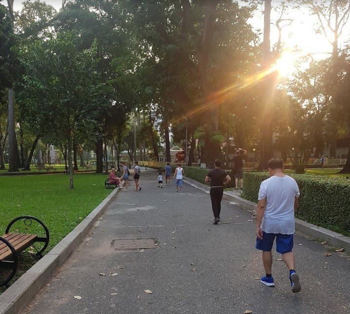 cong vien vao buoi chieu - Tả cảnh công viên vào buổi chiều ngắn gọn hay nhất 3 bài văn