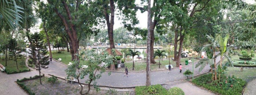cong vien - Tả cảnh một buổi sáng trong công viên lớp 5 hay nhất - 3 bài văn miêu tả buổi sáng đẹp ngắn gọn