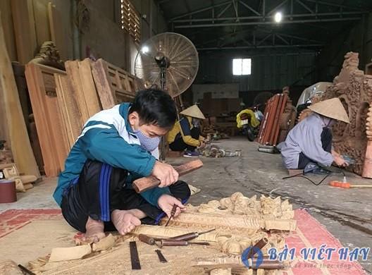 cuoi cung van chuong cung chinh la nghe moc anh deu lam cong viec cua hien thuc m - Cuối cùng văn chương cũng chính là nghề mộc. Anh đều làm công việc của hiện thực, một vật liệu cứng như gỗ