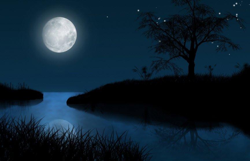 dem trang ram 1 - Tả đêm trăng đẹp lớp 5, bài văn miêu tả đêm trăng rằm trung thu ở quê em thành phố