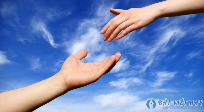 hay trao di yeu thuong va su se chia ban se nhan duoc ve niem vui va hanh phu - Hãy trao đi yêu thương và sự sẻ chia, bạn sẽ nhận được về niềm vui và hạnh phúc