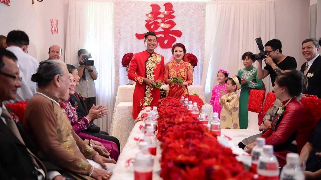 hinh anh van mau mieu ta dam cuoi bang tieng trung 1 1024x576 1 - Văn mẫu tiếng Trung: miêu tả đám cưới bằng tiếng Trung