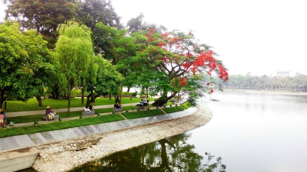 hinh anh van mau viet ve thoi tiet ha noi bang tieng trung 1 1024x576 1 - Văn mẫu tiếng Trung: Viết về thời tiết Hà Nội bằng tiếng Trung