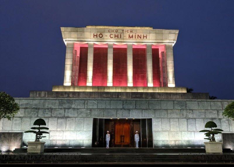 lang bac ve dem - Tả lăng Bác lớp 5 hay nhất - 3 bài văn miêu tả lăng Bác Hồ ở Hà Nội