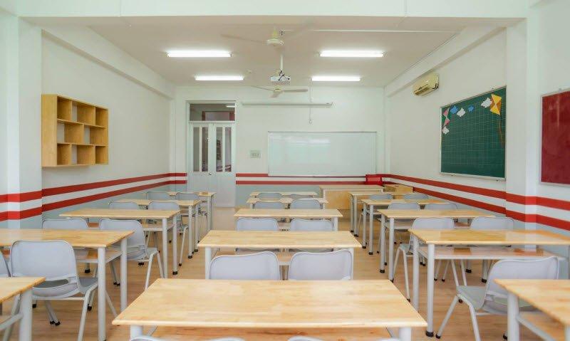 lop hoc dep - Tả lớp học của em lớp 5 - 3 bài văn miêu tả phòng học ngắn gọn hay nhất