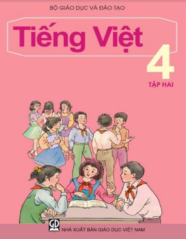 sach tieng viet lop 4 tap 2 - Tả quyển sách tiếng Việt lớp 4 hay nhất ngắn gọn