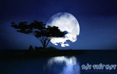 ta dem trang trung thu ngu van 7 - Tả đêm trăng trung thu - ngữ văn 7
