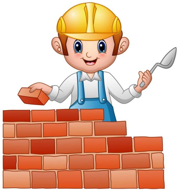tho xay dang xay - Tả một người thợ xây đang làm việc - 3 bài văn miêu tả bác thợ xây, công nhân xây dựng đang xây dựng nhà