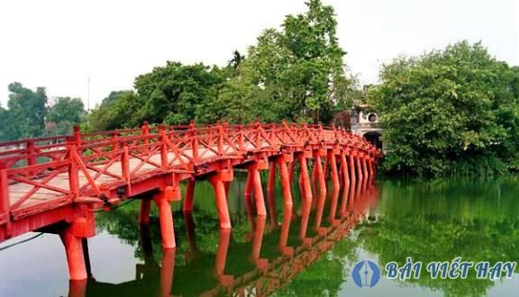 top 10 bai van mau ta canh ho guom ha noi dat diem cao moi nhat 6 - Top 10 bài văn mẫu tả cảnh Hồ Gươm Hà Nội đạt điểm cao mới nhất