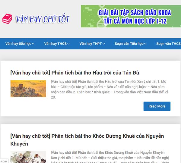 van hay chu tot – tai lieu hoc van bo ich nhat - Văn hay chữ tốt – Tài liệu học Văn bổ ích nhất