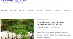 van mau hoc sinh – thu vien bai van hay cua hoc sinh 310x165 - Văn mẫu học sinh – Thư viện bài văn hay của học sinh