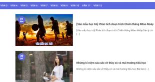 van mau hoc tro – nhung bai van mau hay nhat 310x165 - Văn mẫu học trò – Những bài văn mẫu hay nhất
