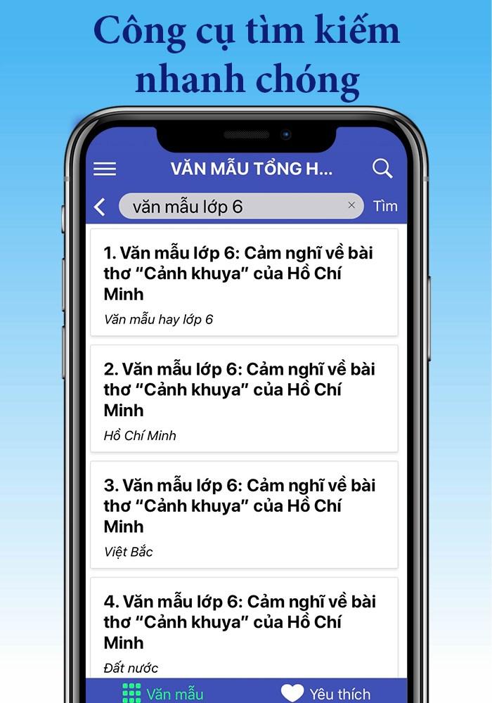 app van mau tong hop cung cap nhieu van mau hay nhat 2 - App Văn mẫu tổng hợp cung cấp nhiều văn mẫu hay nhất