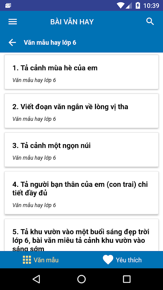 unnamed.png4  - Khám phá app Bài văn hay tham khảo dành cho học sinh