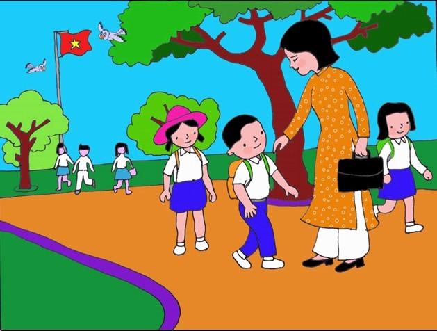 top 10 bai van mau ke lai nhung ki niem ngay dau tien di hoc 5 - Top 10 bài văn mẫu kể lại những kỉ niệm ngày đầu tiên đi học