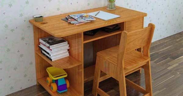 top 10 bai van mau ta chiec ban hoc - Top 10 bài văn mẫu tả chiếc bàn học