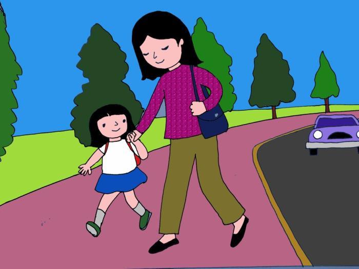 top 10 bai van mau ta con duong den truong 8 - Top 10 bài văn mẫu tả con đường đến trường