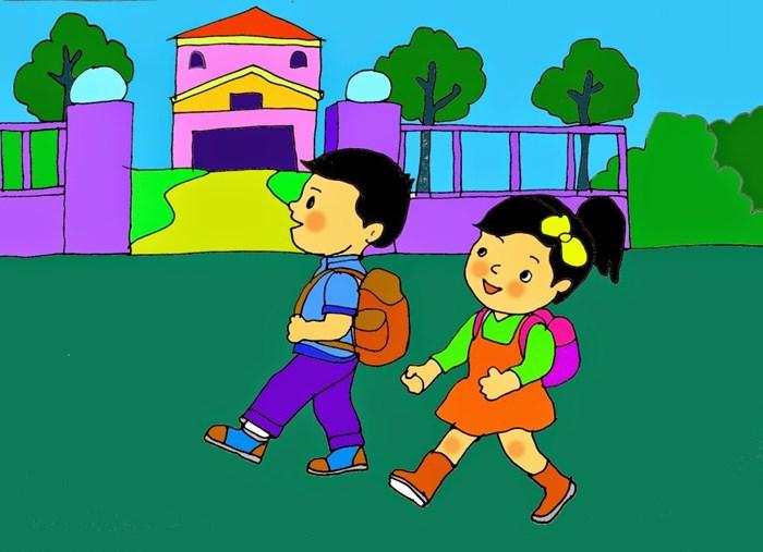 top 10 bai van mau ta con duong den truong 9 - Top 10 bài văn mẫu tả con đường đến trường