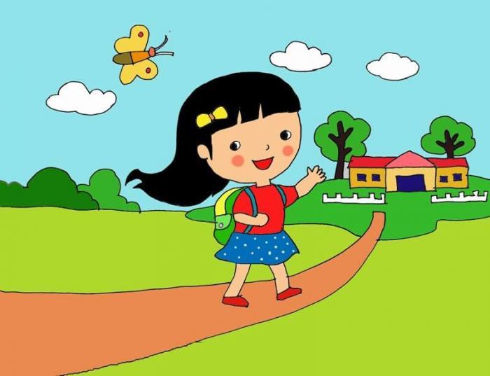 top 10 bai van mau ta con duong den truong - Top 10 bài văn mẫu tả con đường đến trường