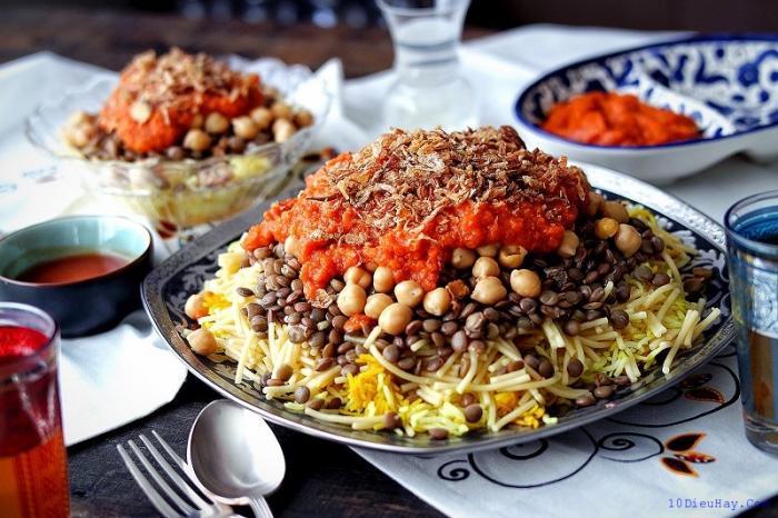 top 10 mon an ngon noi tieng nhat o ai cap 2 - Top 10 món ăn ngon nổi tiếng nhất ở Ai cập