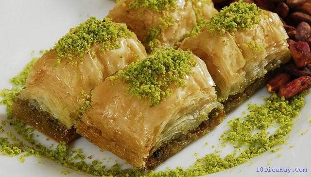 top 10 mon an ngon noi tieng nhat o tho nhi ky 2 - Top 10 món ăn ngon nổi tiếng nhất ở Thổ Nhĩ Kỳ