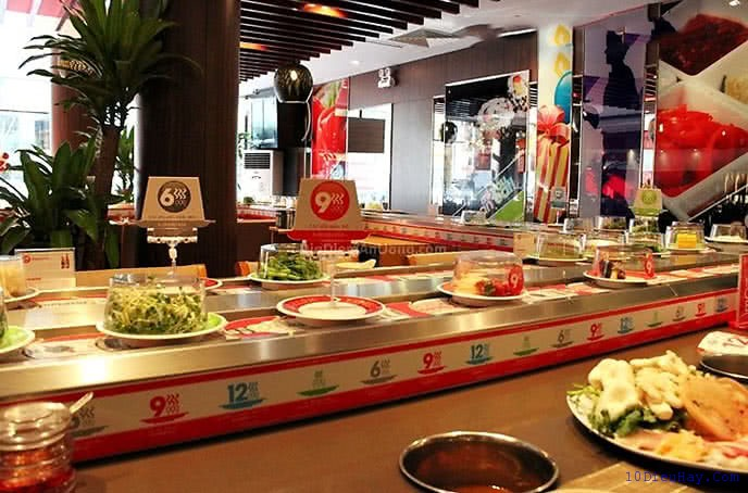 top 10 nha hang lau bang chuyen ngon nhat o ha noi 2 - Top 10 nhà hàng lẩu băng chuyền ngon nhất ở Hà Nội