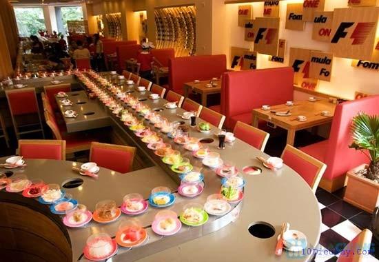 top 10 nha hang lau bang chuyen ngon nhat o tp ho chi minh 9 - Top 10 nhà hàng lẩu băng chuyền ngon nhất ở Tp Hồ Chí Minh