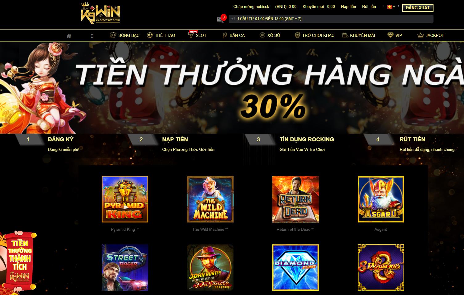 k9win 1 - K9Win Việt Nam - Thiên đường giải trí trực tuyến hàng đầu Châu Á